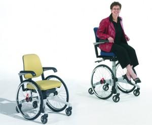 Trippelrolstoel LeTriple Wheels